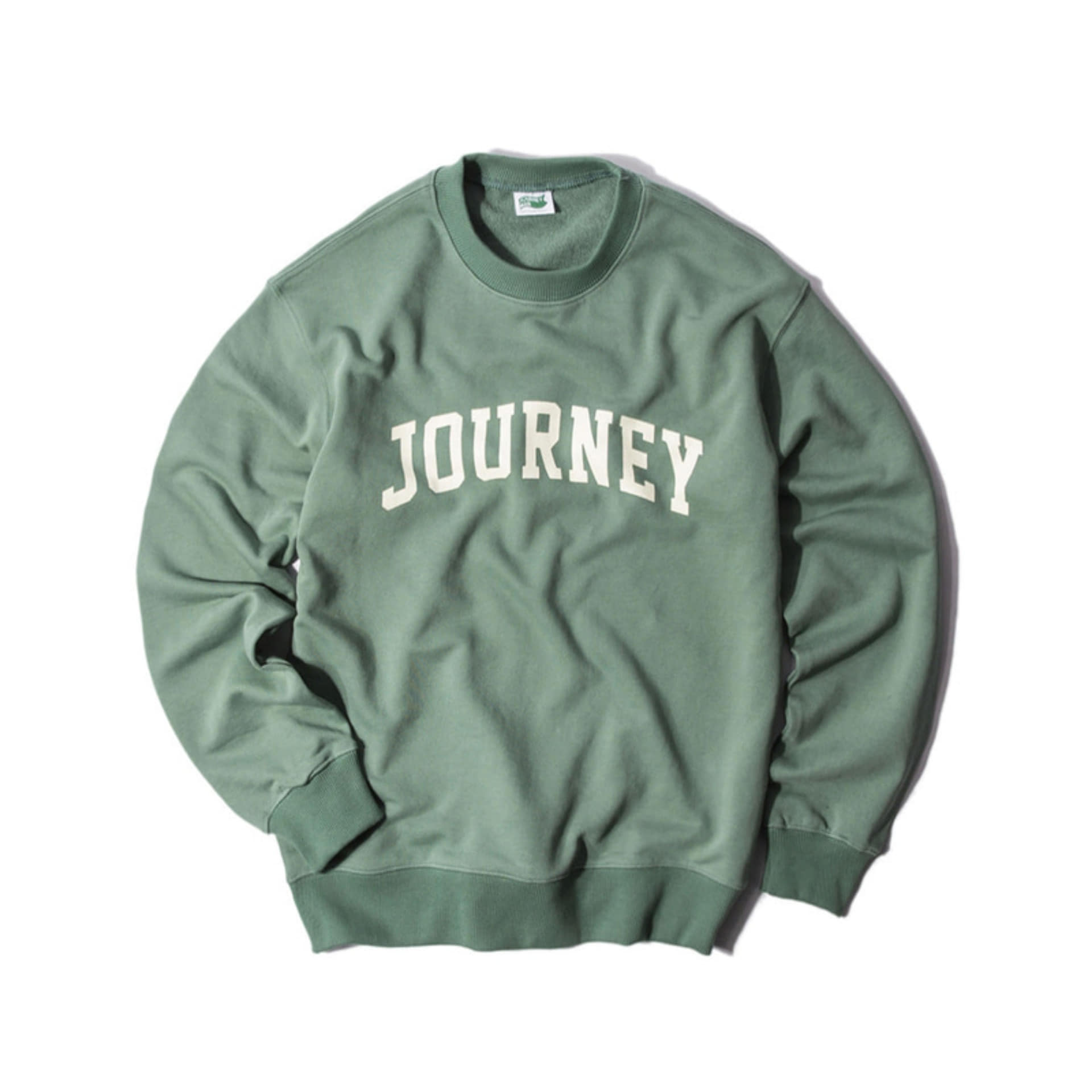 "COLLEGE COLLECTIONSTANDARD FIT""JOURNEY LOGO""(GREEN)"
