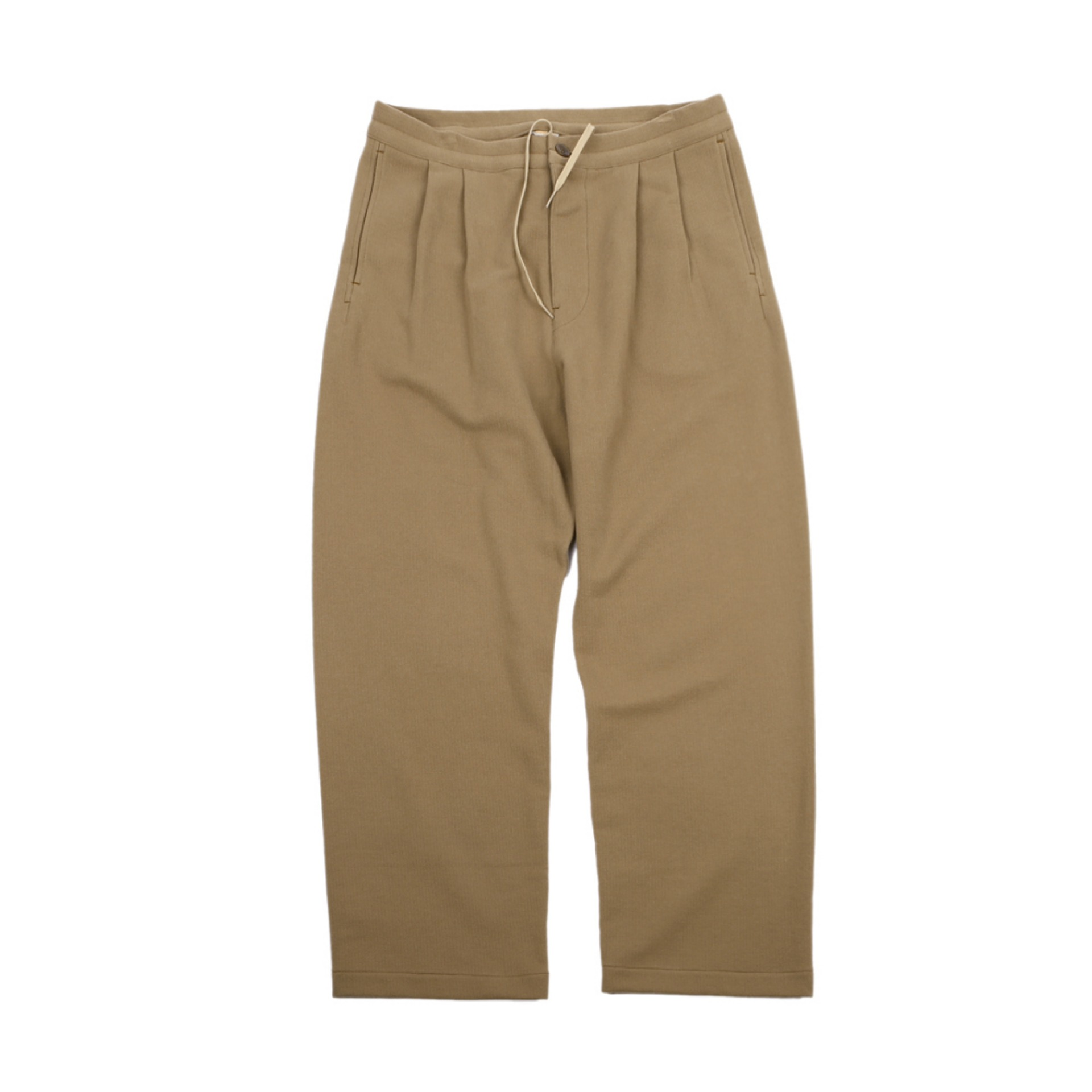 [STIG] 2 Tuck Trouser(Brown)