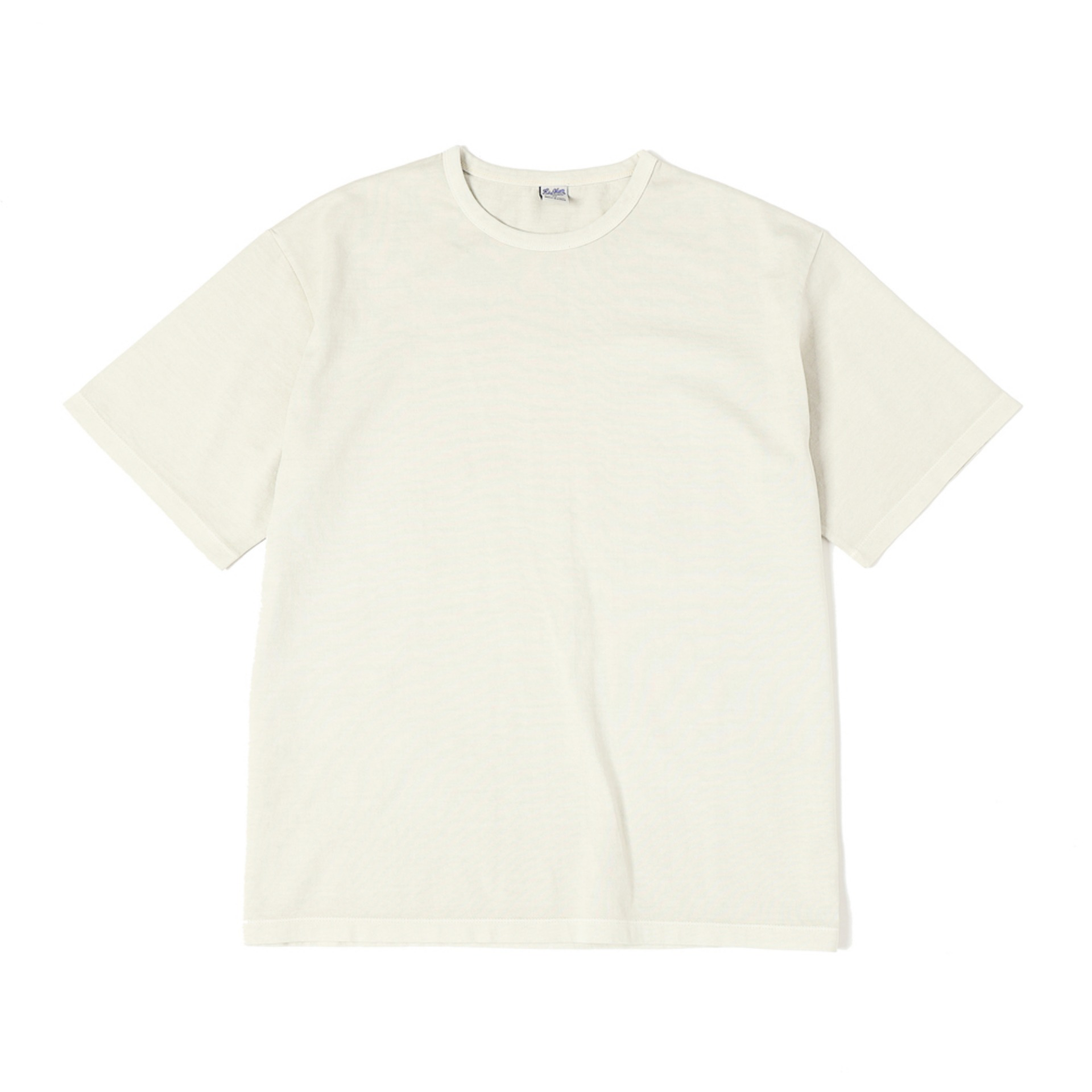 G.D. SOLID S/S TEE(NATURAL)