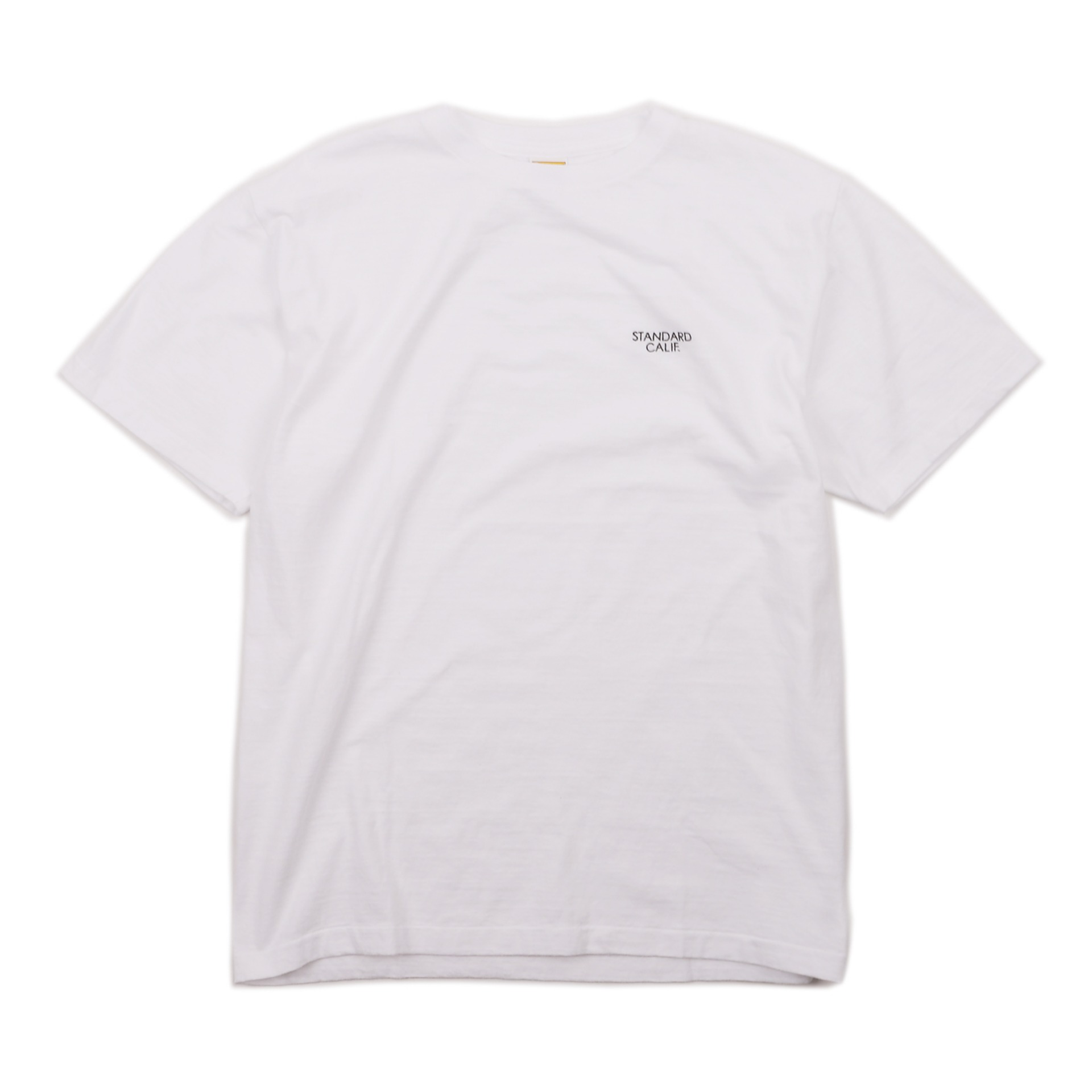 19SS SD SMALL LOGO T (WHITE)