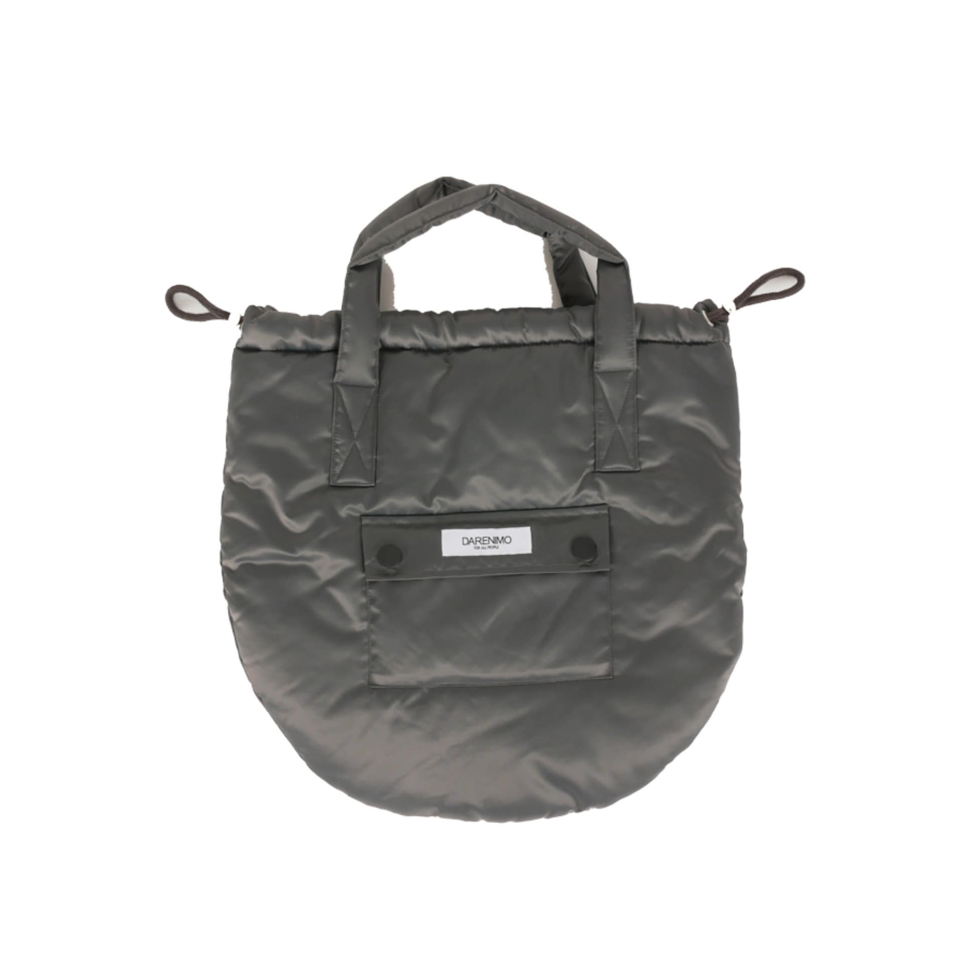DRAWCORD HELMET BAG (SILVER GREY)