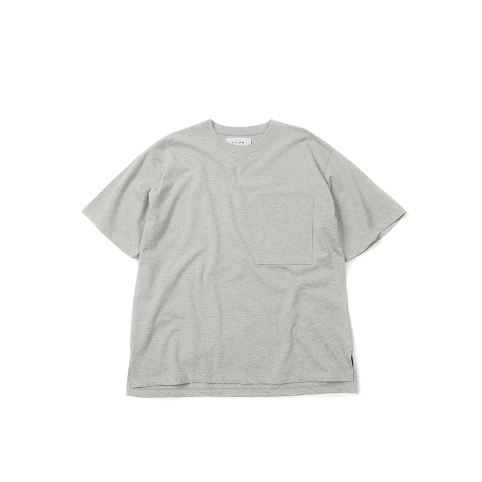 HEAVYWEIGT POCKET T (MELANGE GREY)
