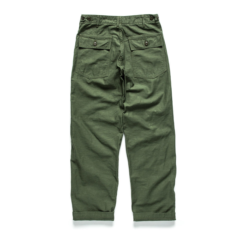 ORSLOW US ARMY FATIGUE PANTS Original Fit (Oliver Green)