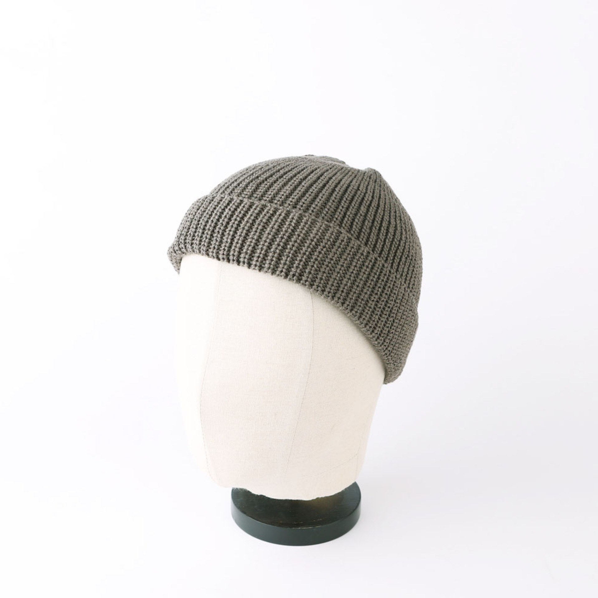 Wafager Cotton Short Beanie (Light Brown)