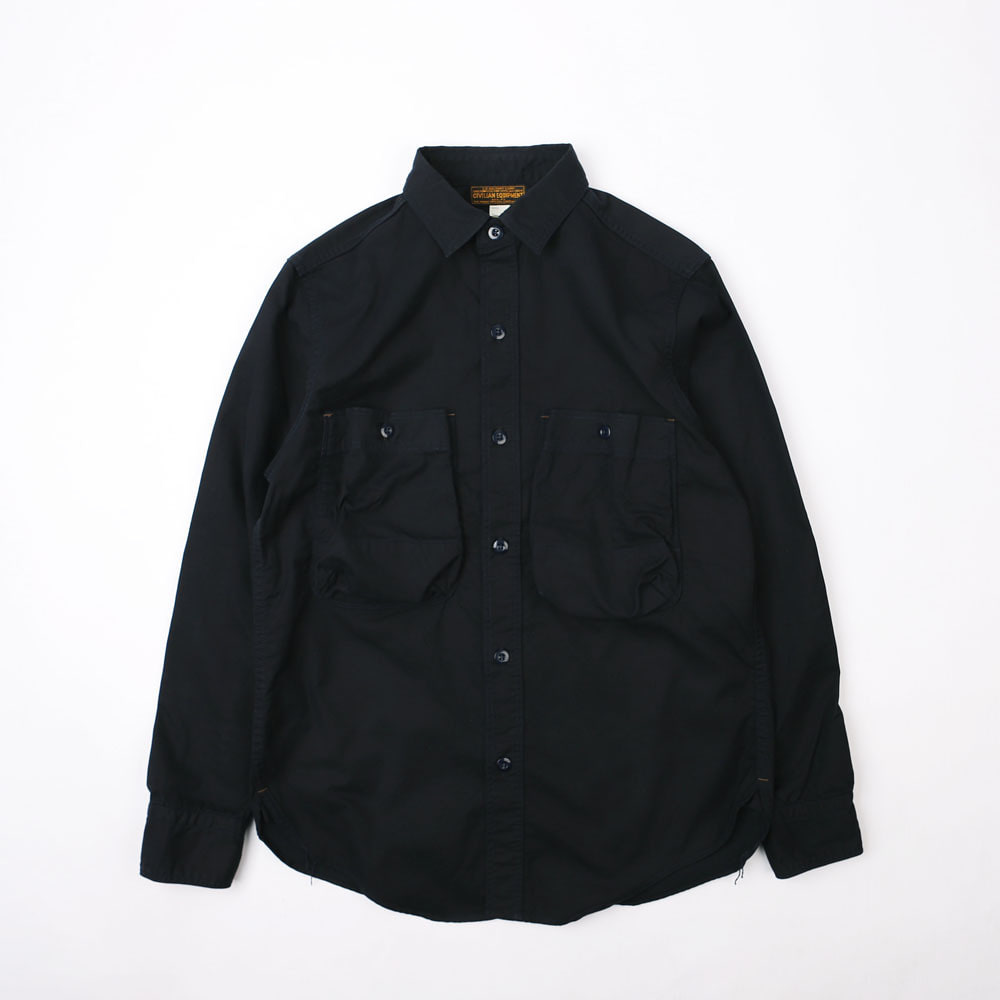 "[Union Special Ovealls]Military Work Shirt""DECK WORKER SHIRTS""(Dark Navy)"