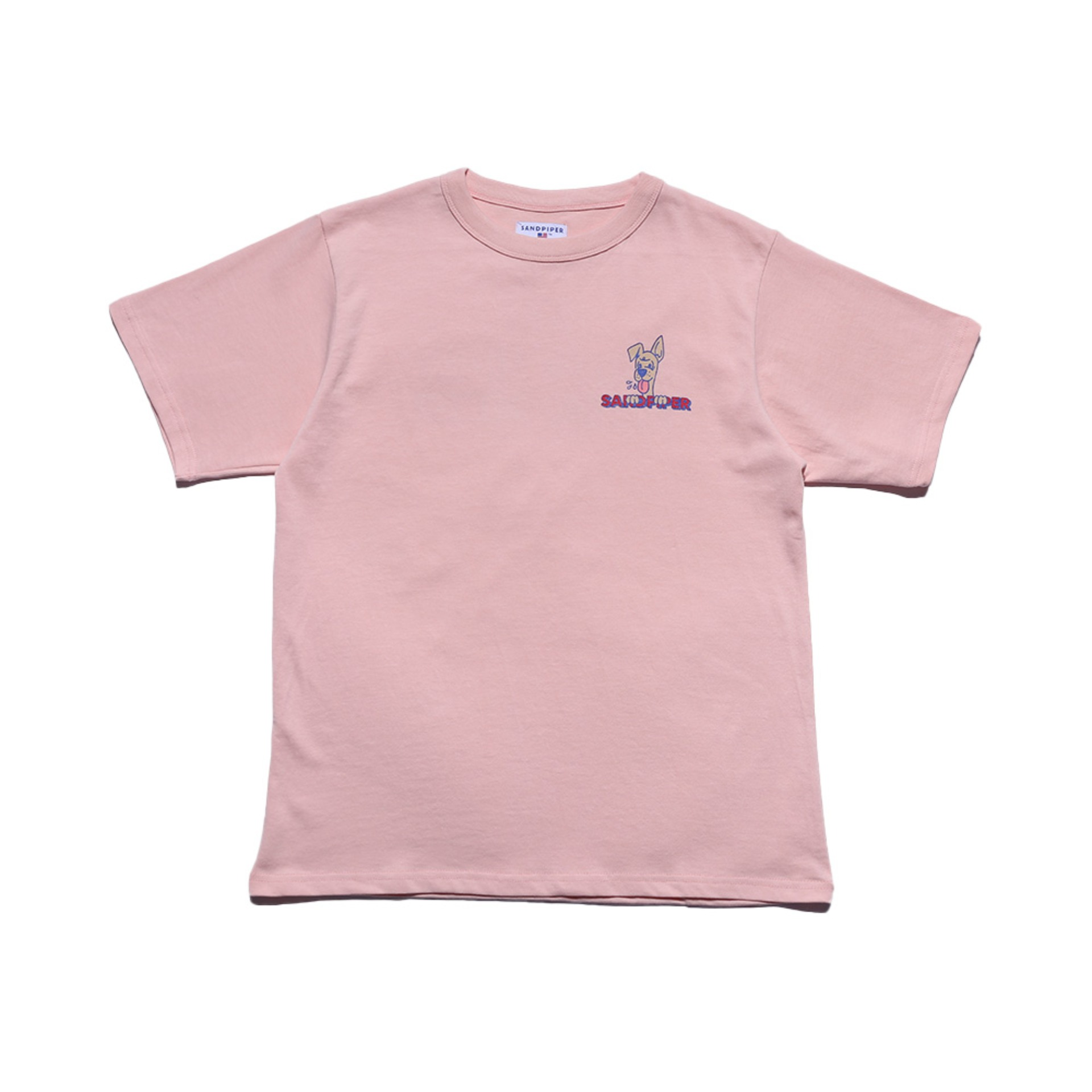 FORREST SANDY T SHIRTS (Baby Pink)