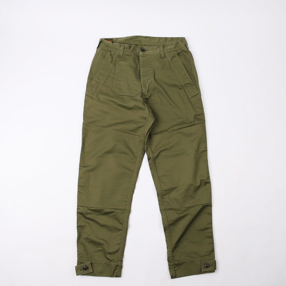 [Union Special Overalls]Military PantsDECK WORKER TROUSERS(Olive)