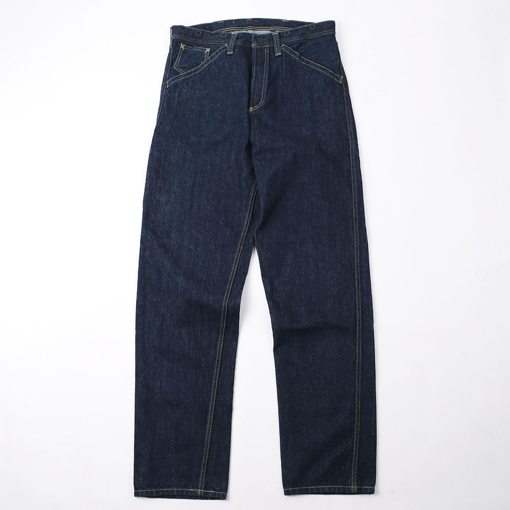 "[Union Special Overalls]Work Pants""BAKE HEAD"" Overalls(Indigo)"