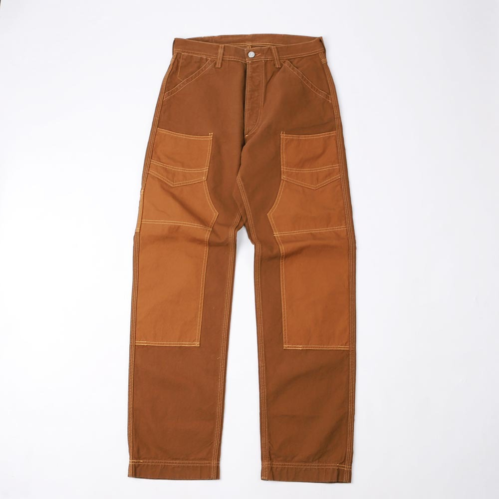 "[Union Special Overalls]WORK PANTS""DERRICK MAN""(Brown x Light Brown)"