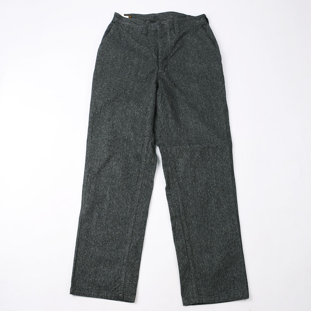 "[Union Special Overalls]Work Trousers""CONSTRUCTION WORKER""(Grained Black))"