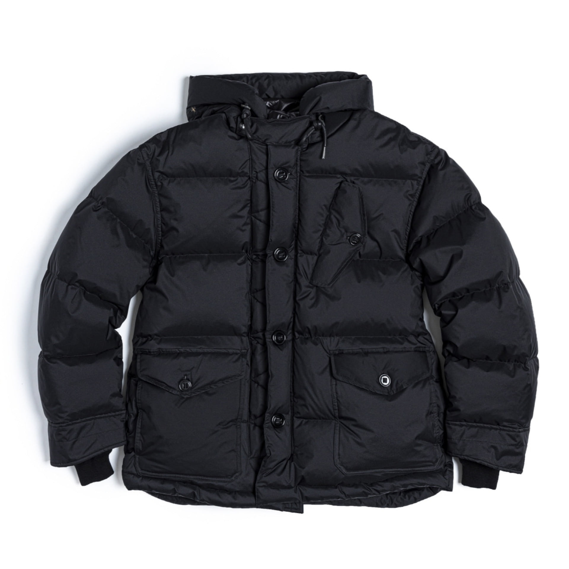 RAF DOWN PARKA  (Black)