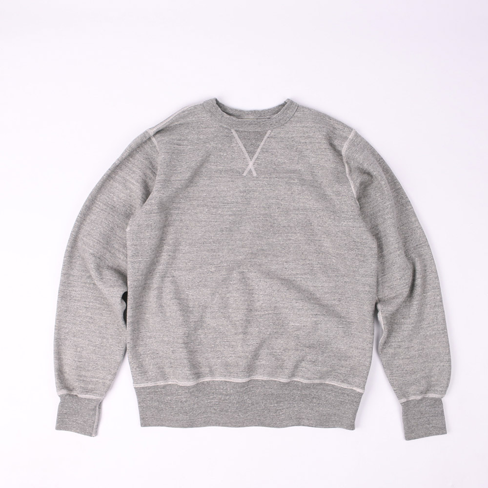 (RESTOCK) LoopwheelSweatshirt (Heather Gray)