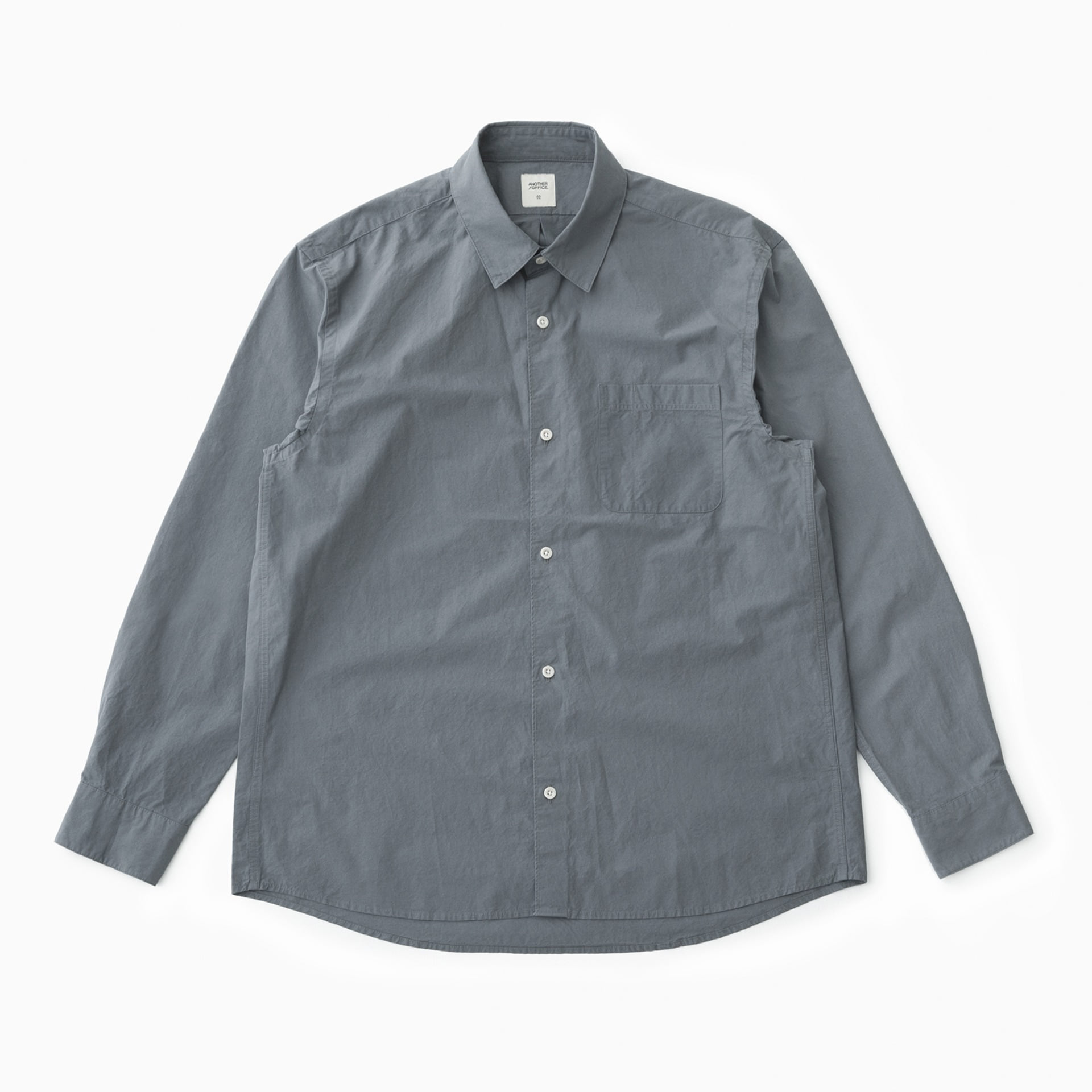 Downtown Shirt (Blue Charcoal)