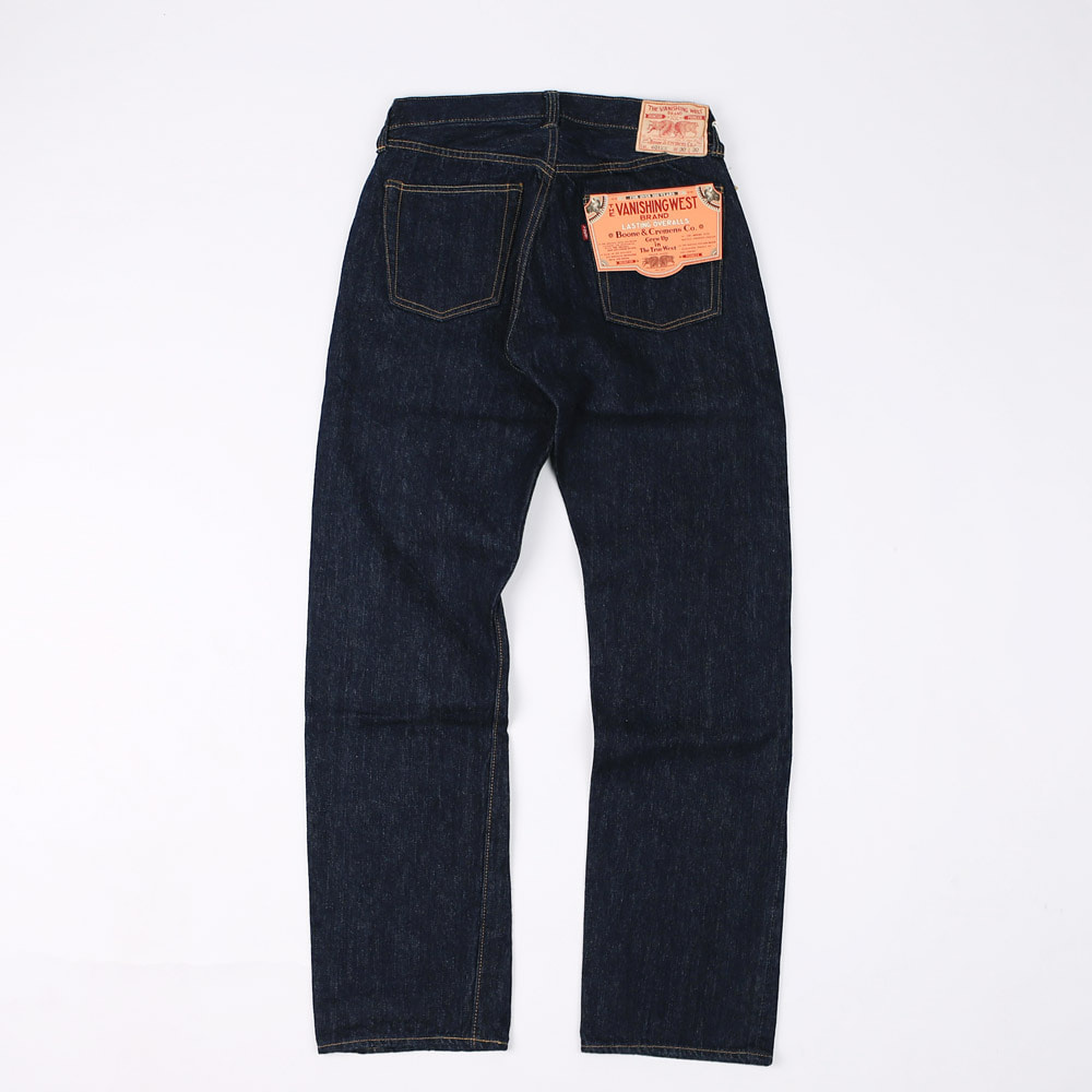 "[The Vanishing West] 5 Pocket Overalls""Lot 601 XX 1951"" (Indigo)"