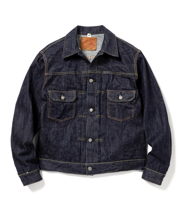 14.25oz. DENIM JACKET 1953 MODEL (Indigo Denim)