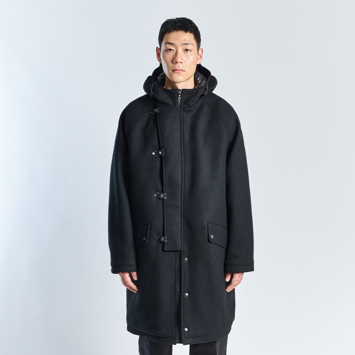 CWU COAT (Black Melton)