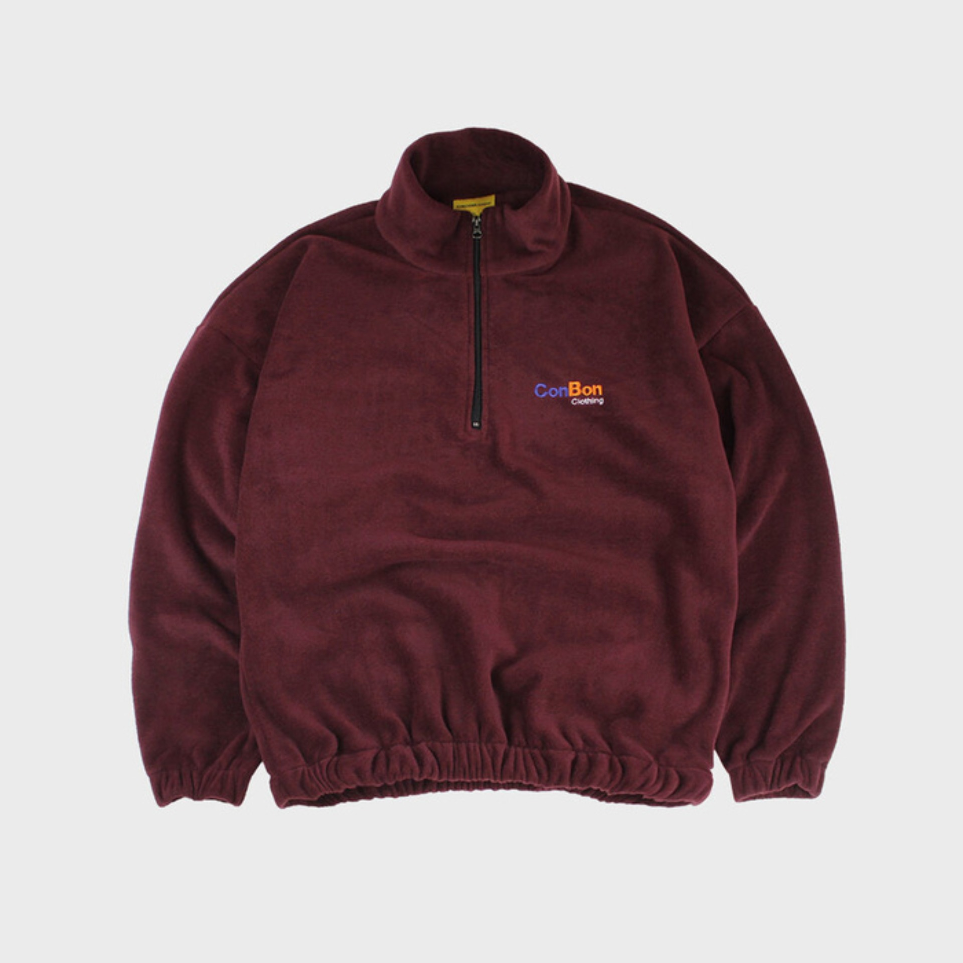 EXPRESS FLEECE ZIP (WINE)