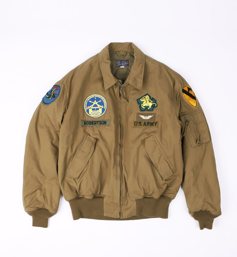 "Helicopter Crew Jacket""1st CAV. 9th CAV. REG (Olive Drab)"