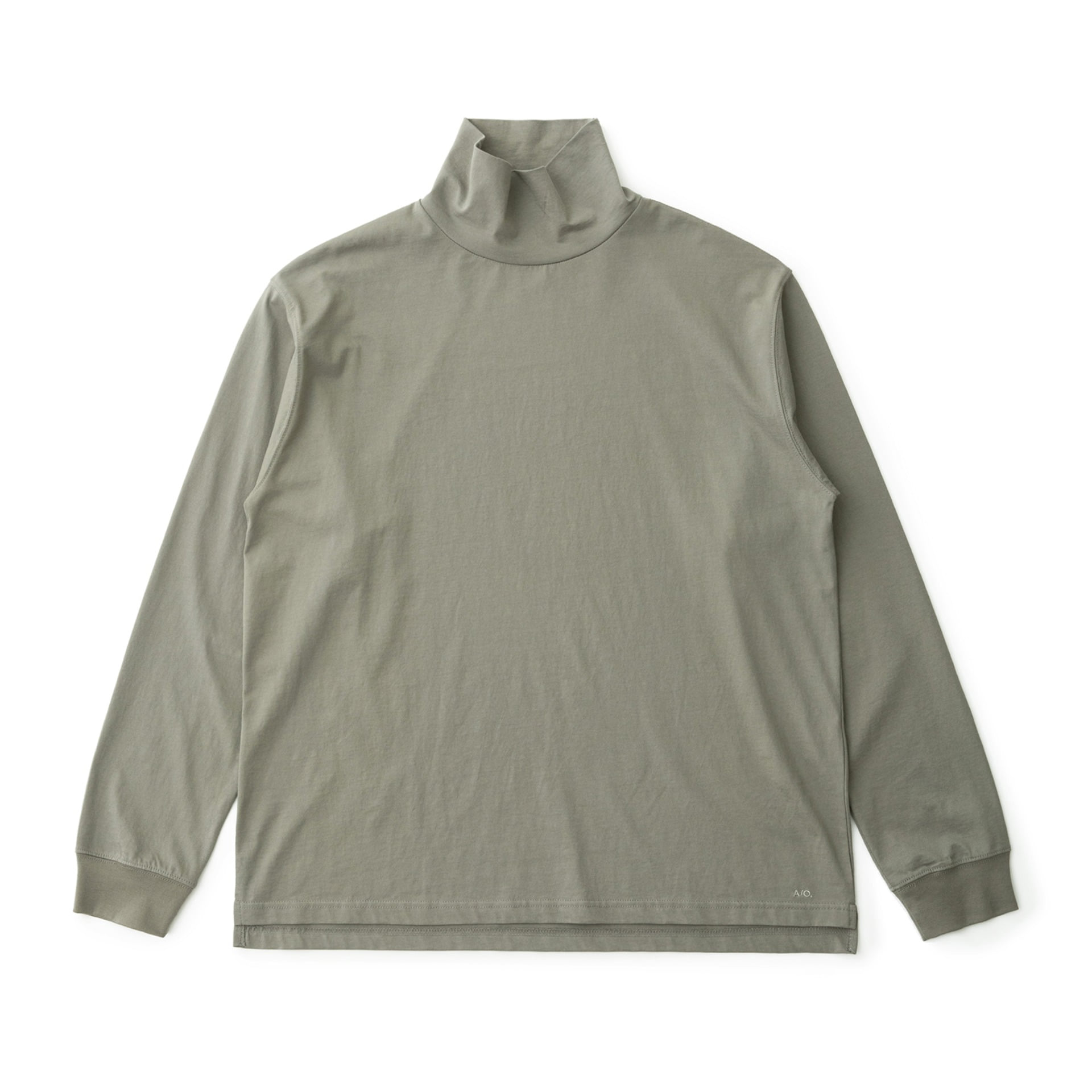 A/O Layer Hi Neck T (French Gray)