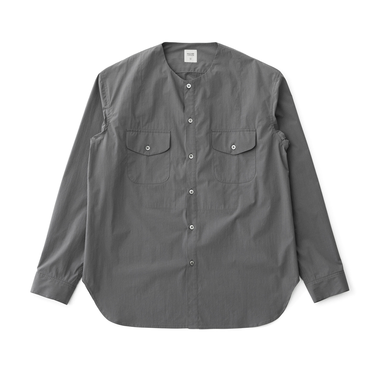 A/O 21SS Layer Round-neck Shirt (Slate Gray)
