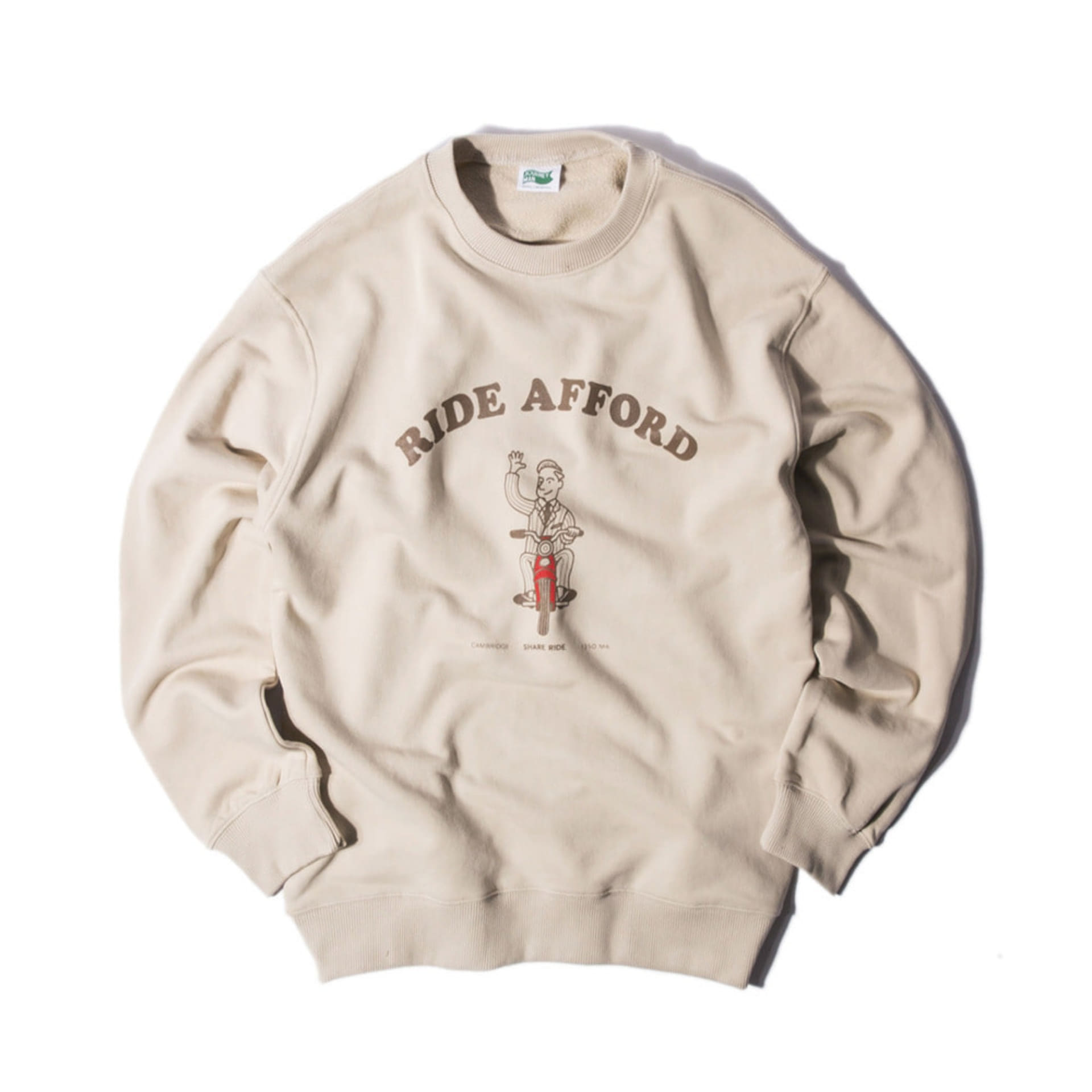 "COLLEGE COLLECTIONSTANDARD FIT""RIDE AFFORD""(BEIGE)"