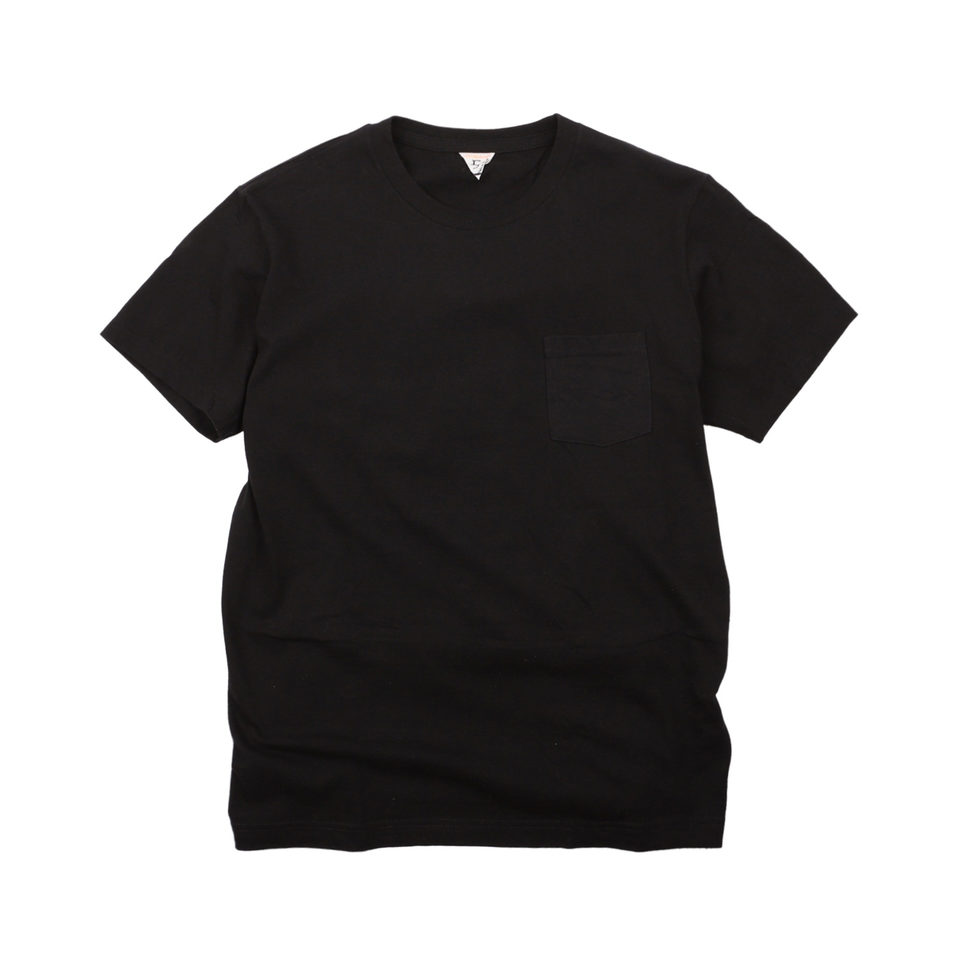 [SUNNY]Pocket T-shirtShort Sleeve T-Shirt(Black)