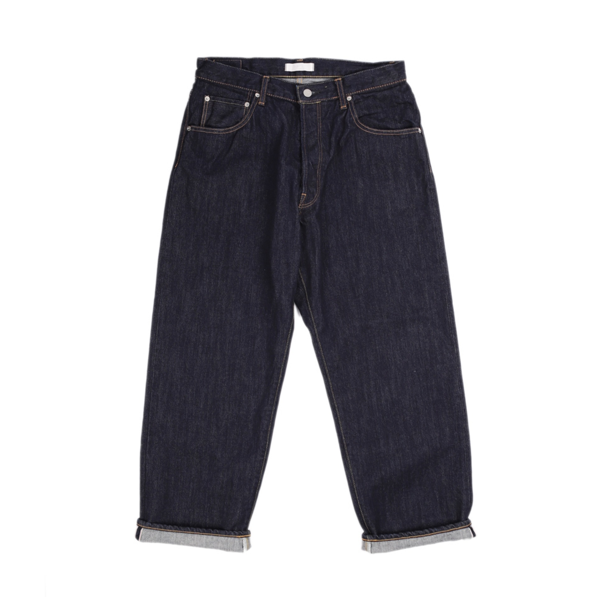 HATSKI WIDE TAPERED DENIM PANTS(INDIGO)