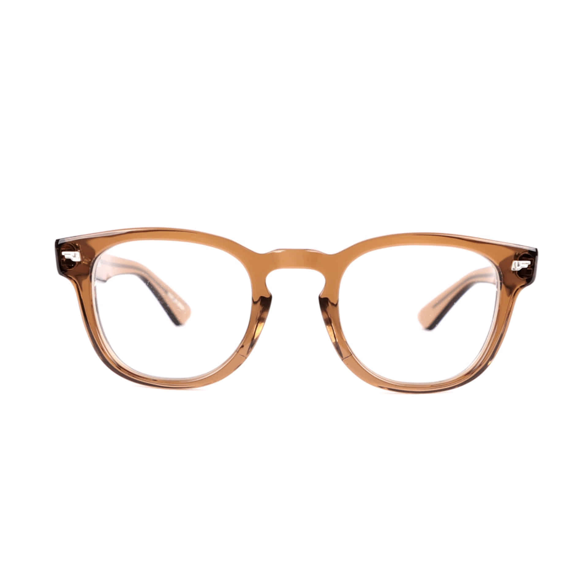KANEKO OPTICAL X SD SUNGLASSES(BROWN X CLEAR)