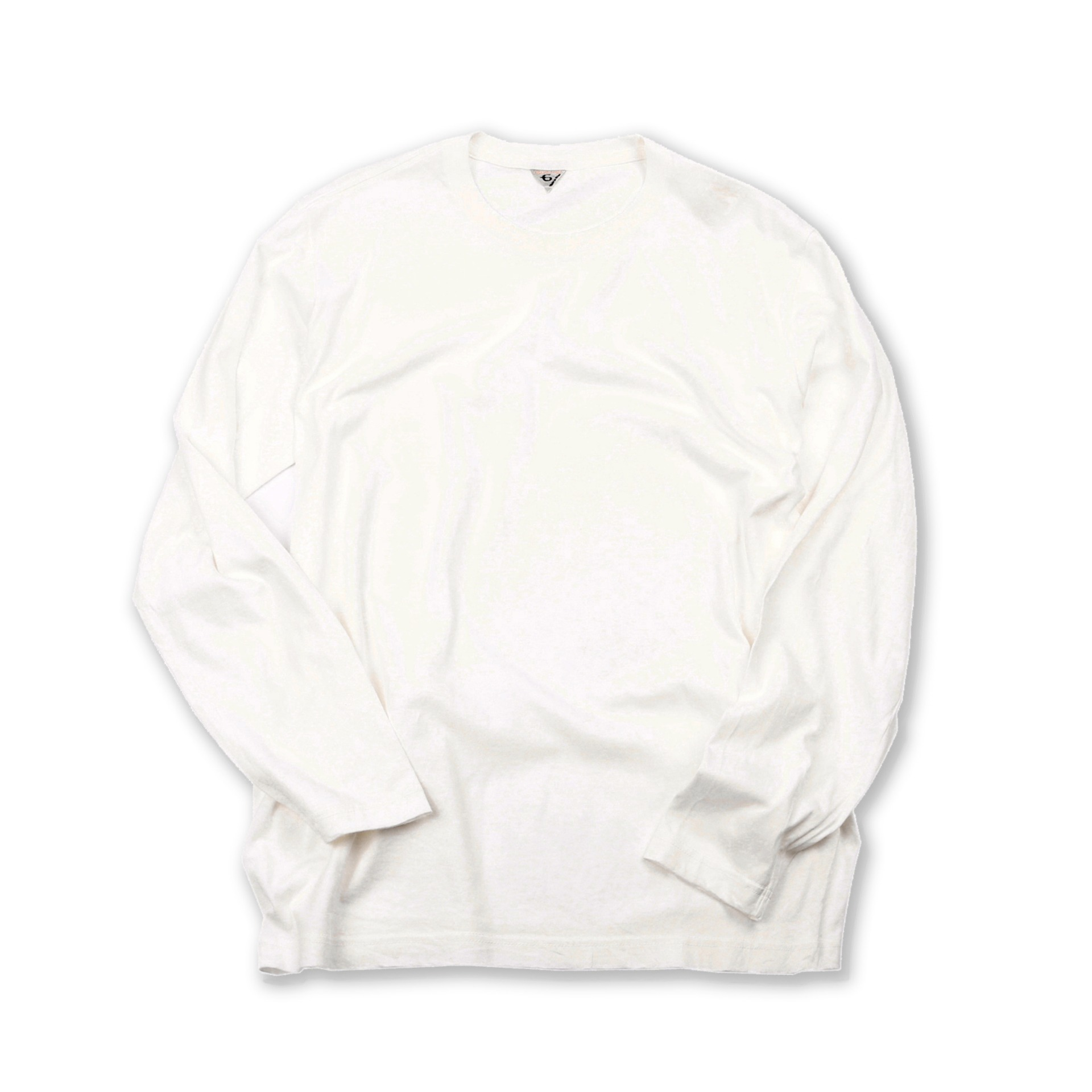 [LEWIS]T-shirtLong Sleeve T-Shirt(White)