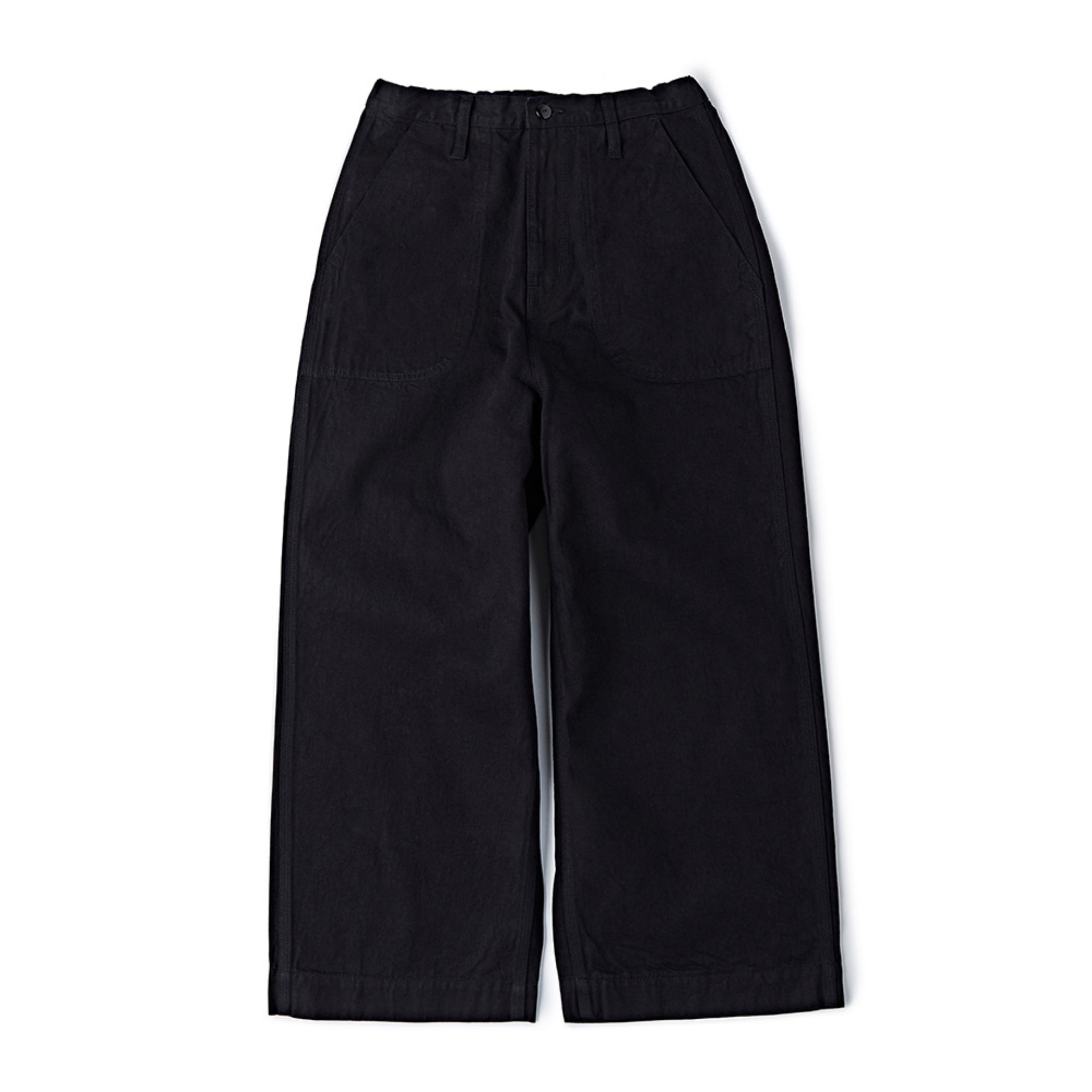 CWWEP-001 Wide Easy Pants(Indigo x Black)