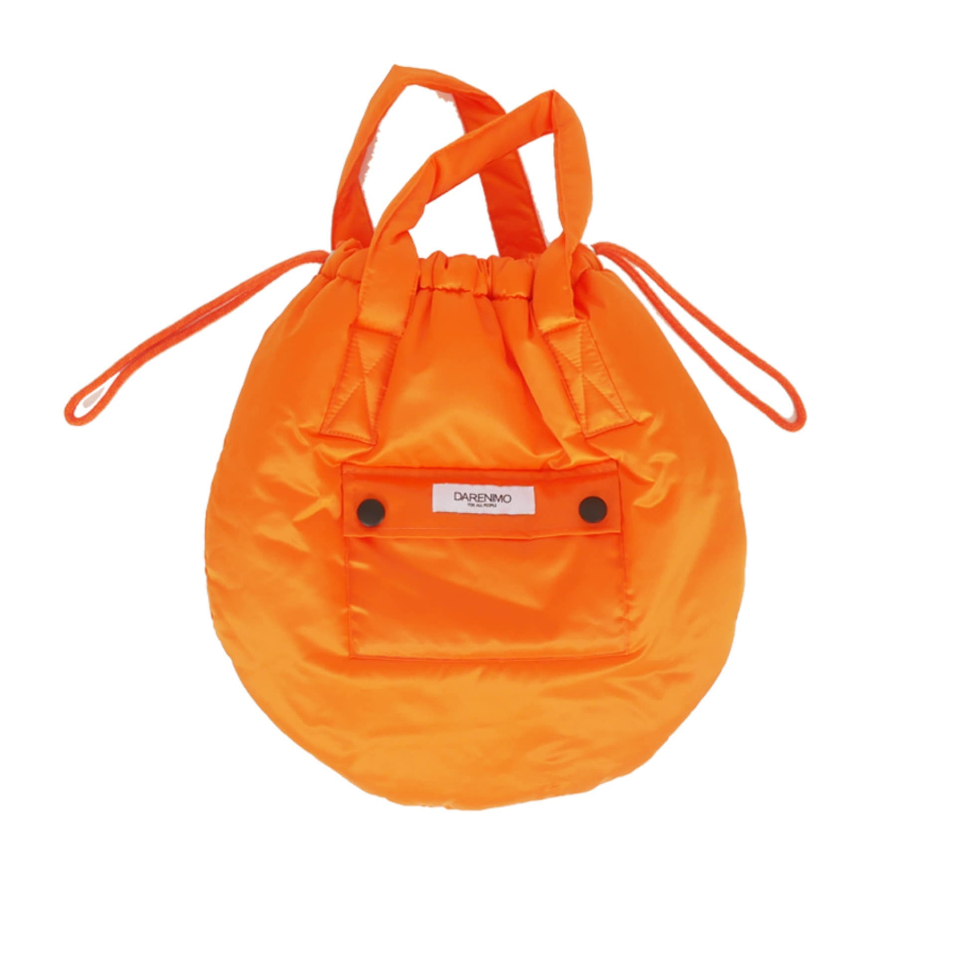 DRAWCORD HELMET BAG (ORANGE)