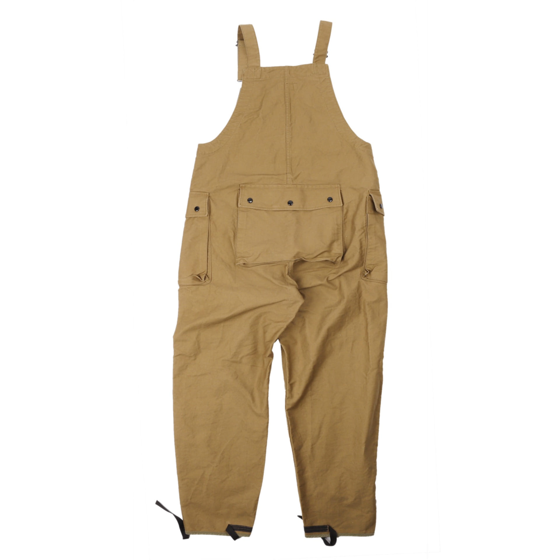 "[Union Special Overalls]Military Overalls""DECK BIB OVERALLS""(Beige)"