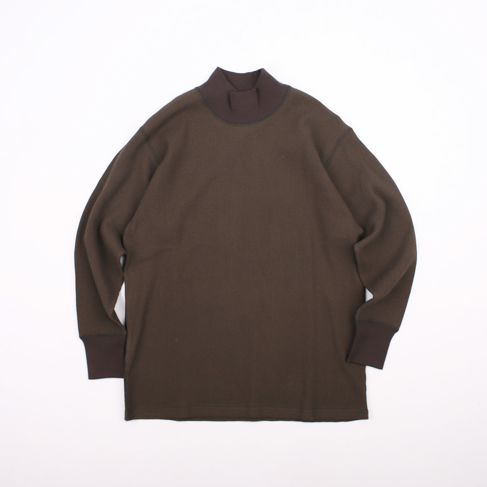 [Power Wear]Thermal LS T-shirtHIGH NECKED THERMAL(Jet Black)