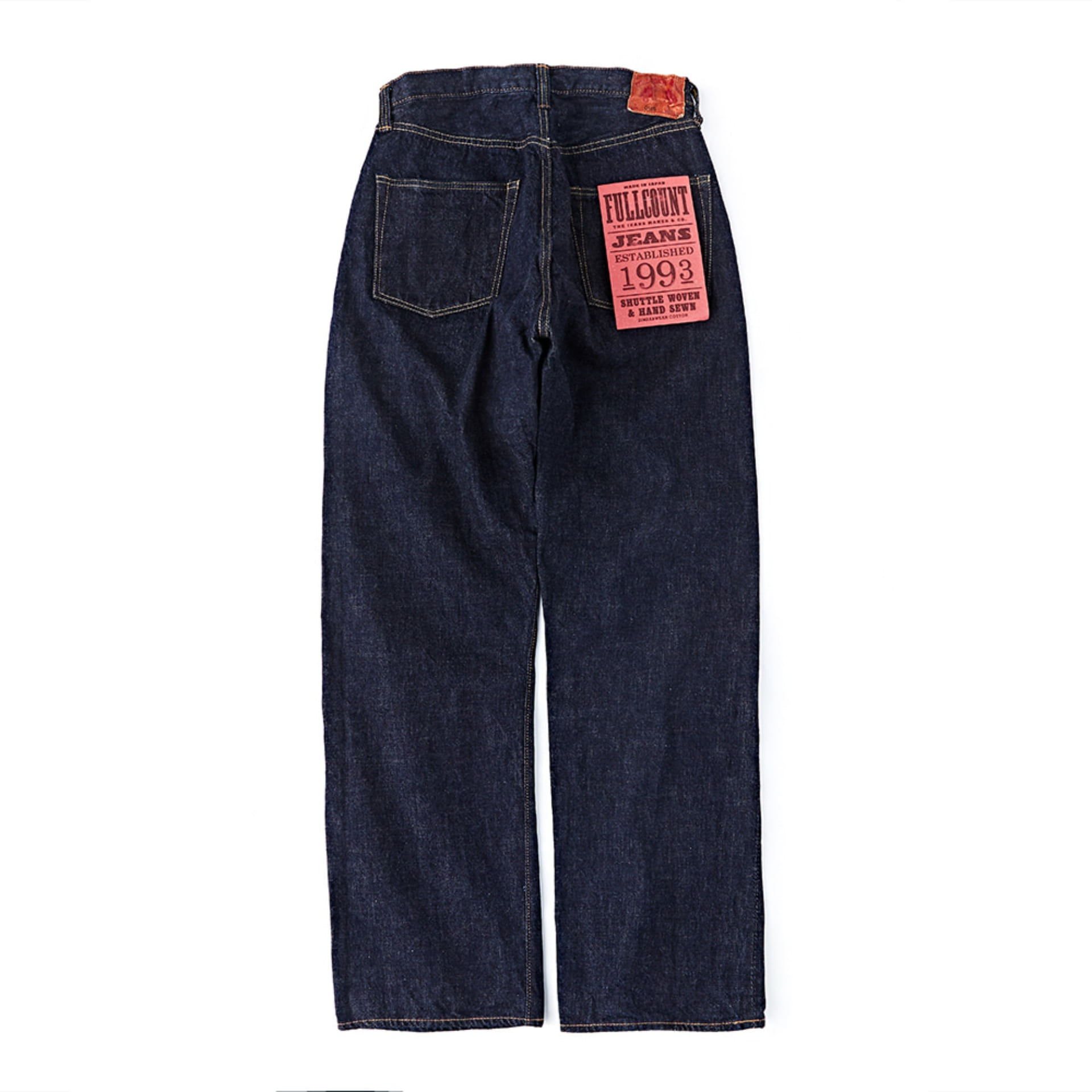 New Loose Straight Denim 0105W (One Washed)