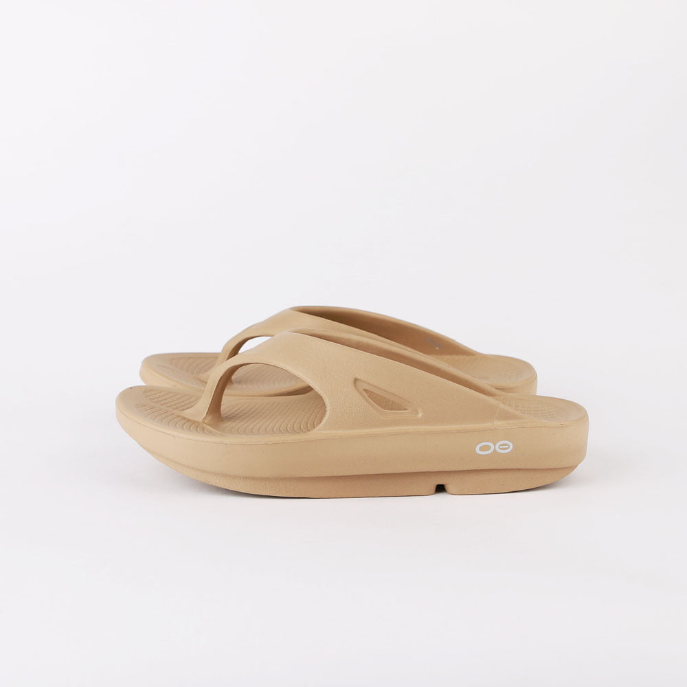 OOFOS OORIGINAL THONG (Taupe)(RESTOCK)