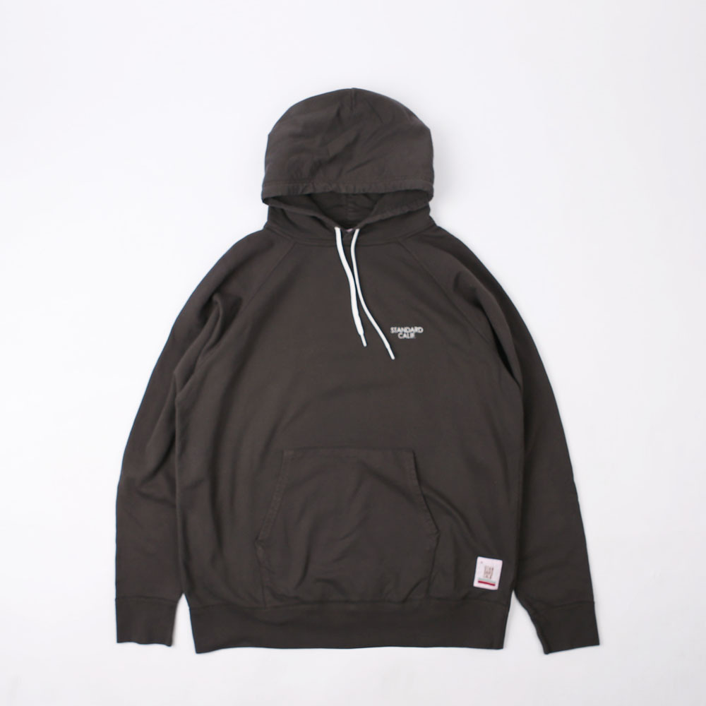 SD Pima Cotton Pullover Hood Sweat (Charcoal)