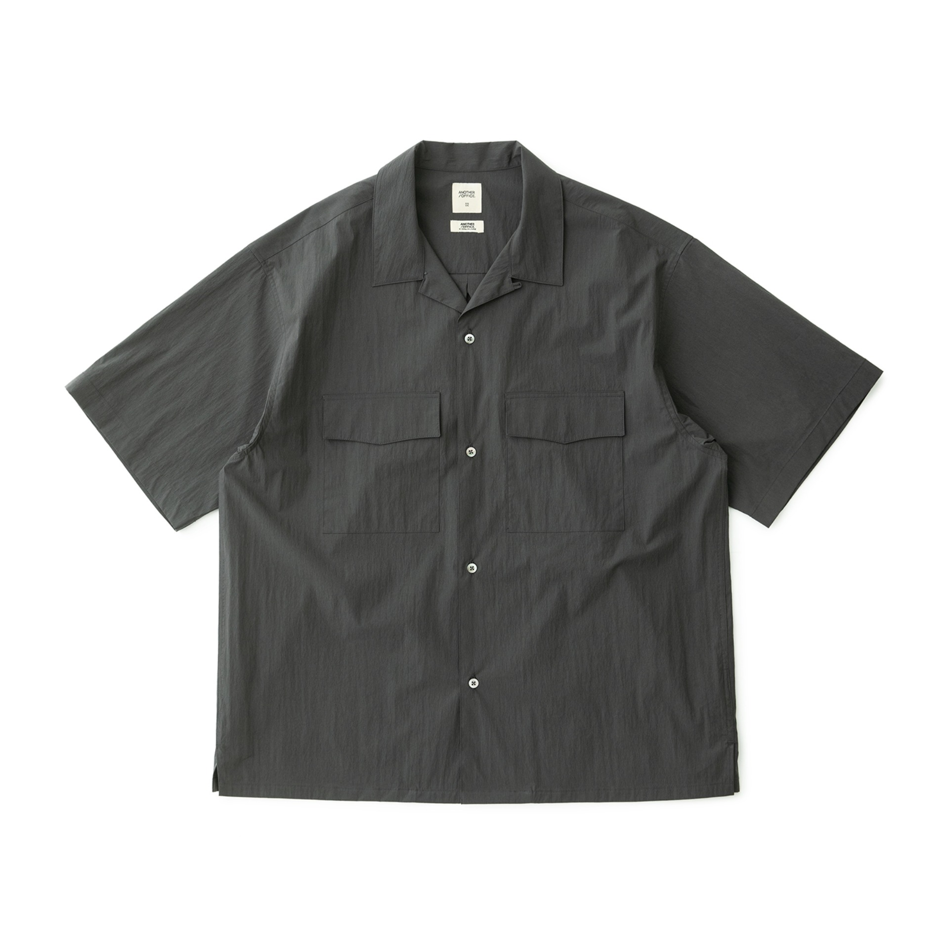 Voyager Open Collor Shirt (Graphite)