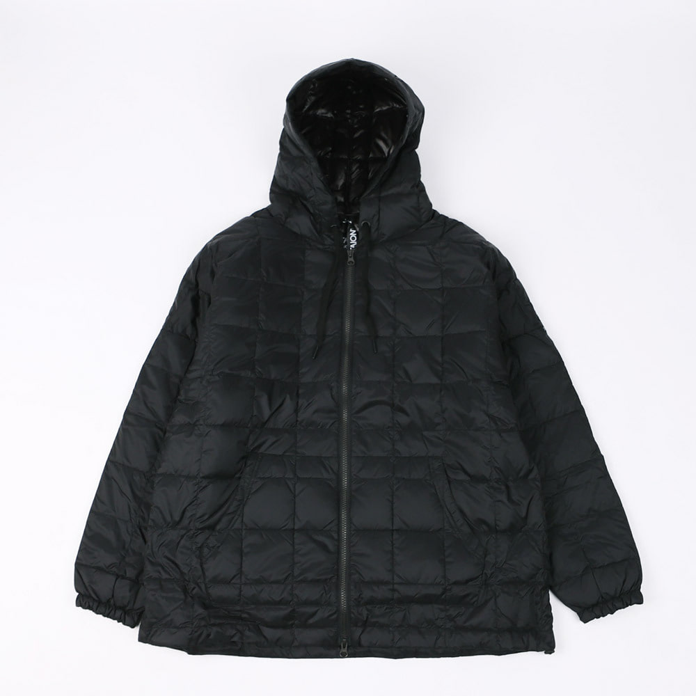 OVERSIZE DOWN ZIP PARKA (Black)