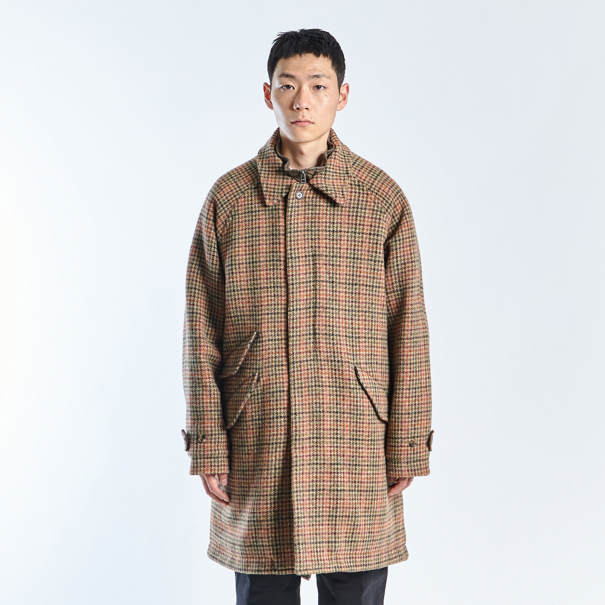 FIELD COAT (Multi Gunclub Check)