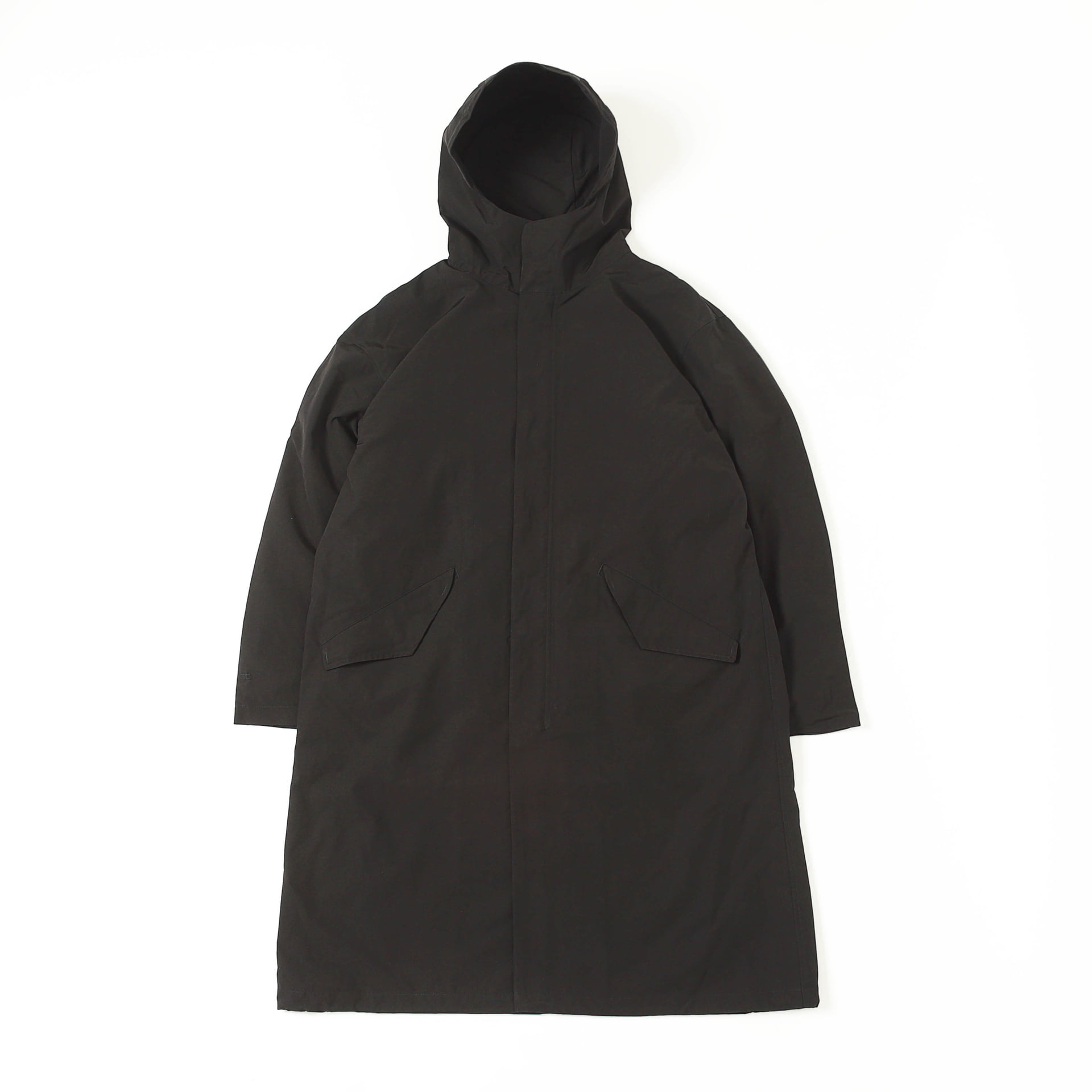 CR HOOD COAT SET  (Black)
