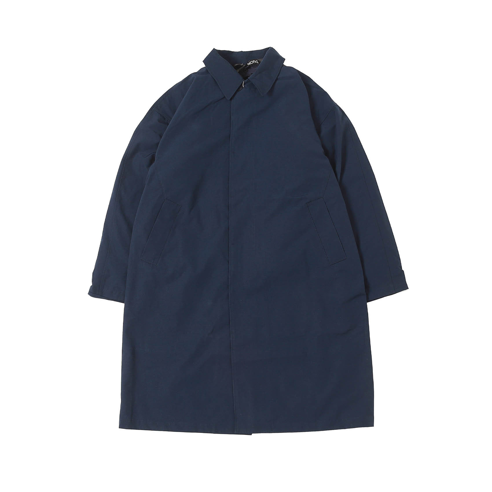 CR BALL COLLAR COAT SET (NAVY)
