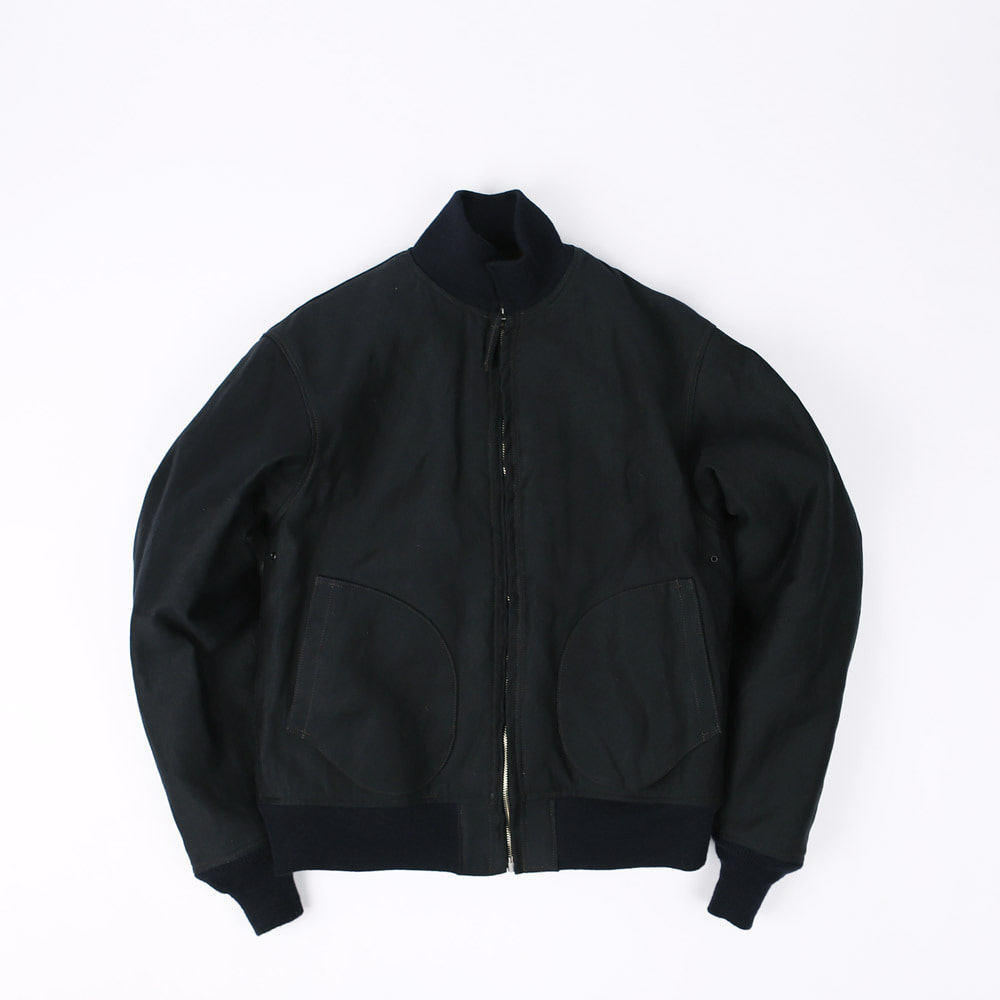 [Navy Department]Zip Deck, Jacket(Dark Navy)
