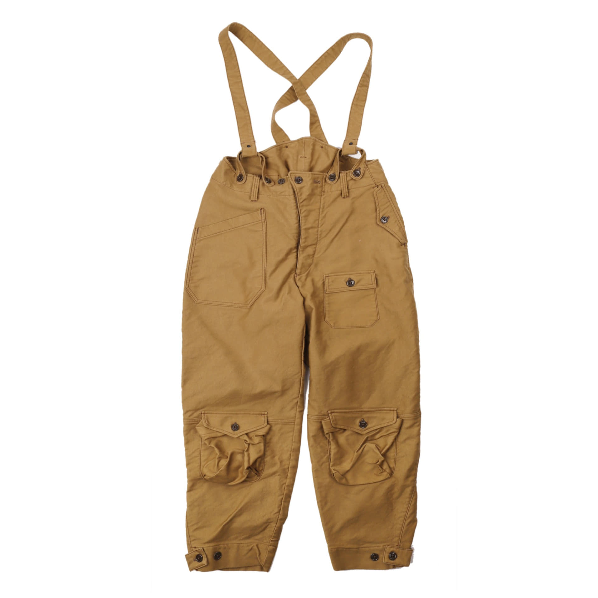 "[Union Special Overalls]Military Pants""WINTER FLYING TROUSERS""(KHAKI BEIGE)"