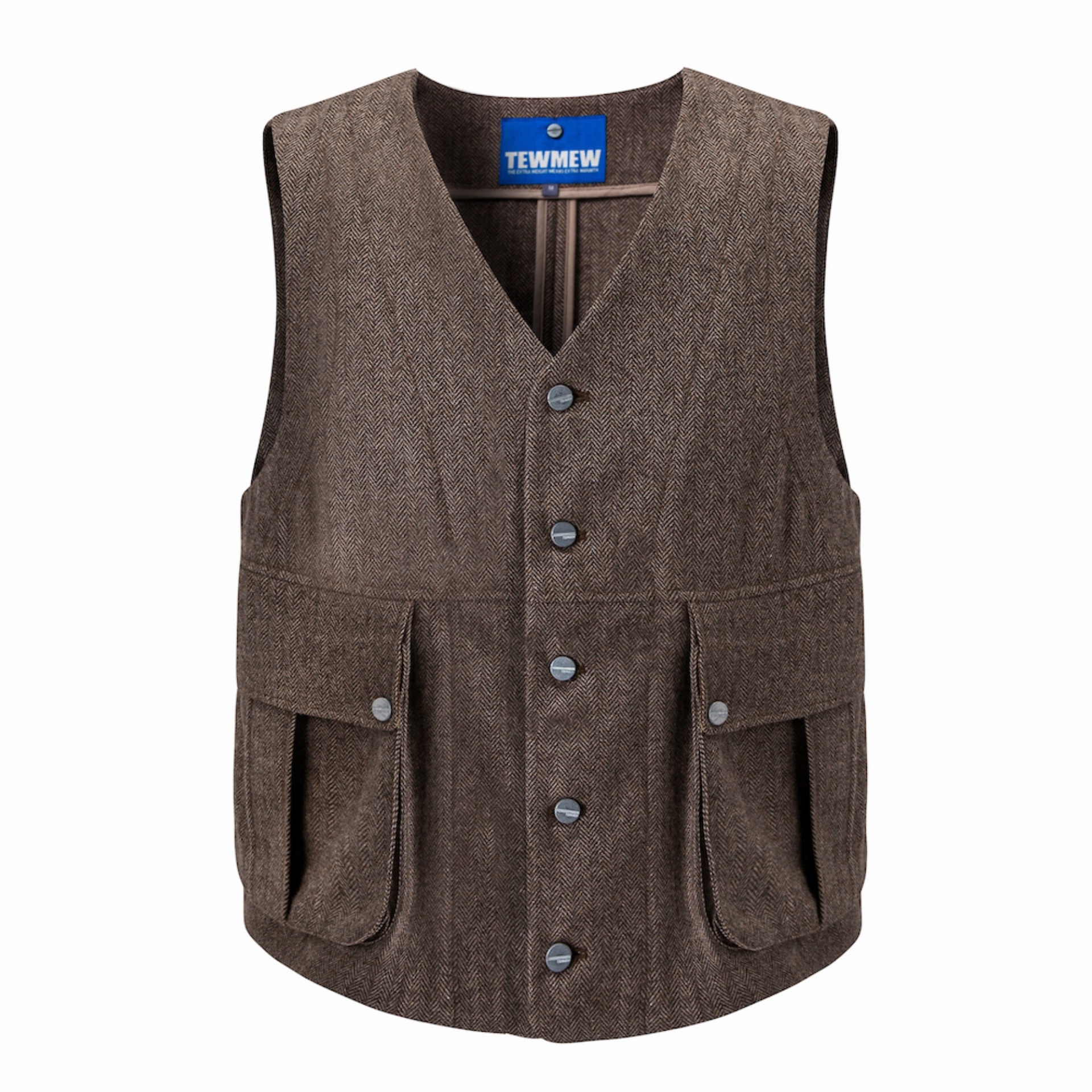 HRB HEAVY WORK VEST (Brown)