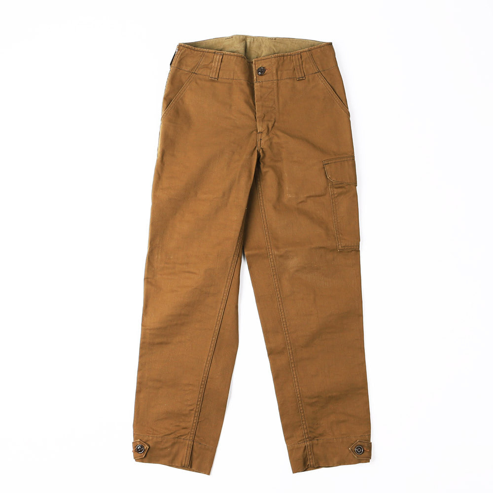 [Union Special Overalls]Military TrouserAVIATORS TROUSERS(Red Brown)