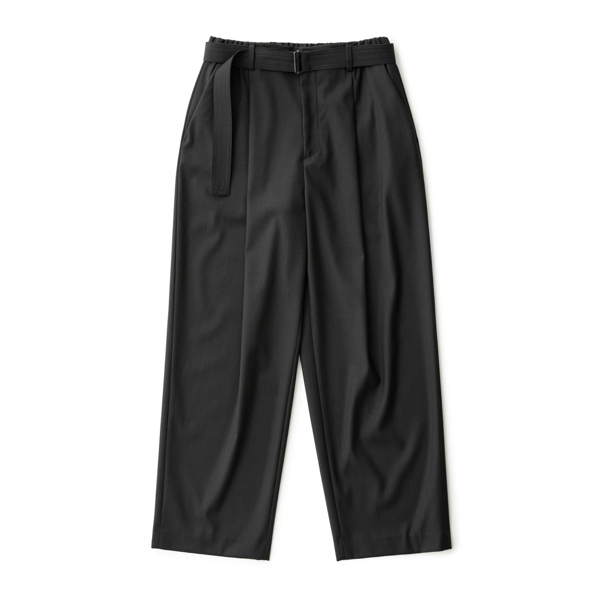 Calm Banded Pants (Charcoal)